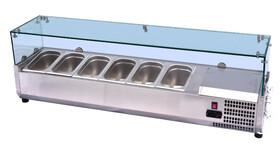 Хладилна витрина за салати, VRX 1200/330, За 5 GN ¼-150